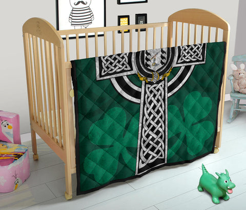 Irish Quilt, McNamara Family Crest Premium Quilt TH47