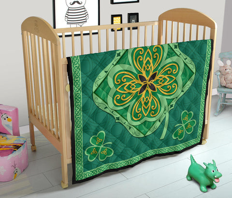 Irish Shamrock Quilt 8