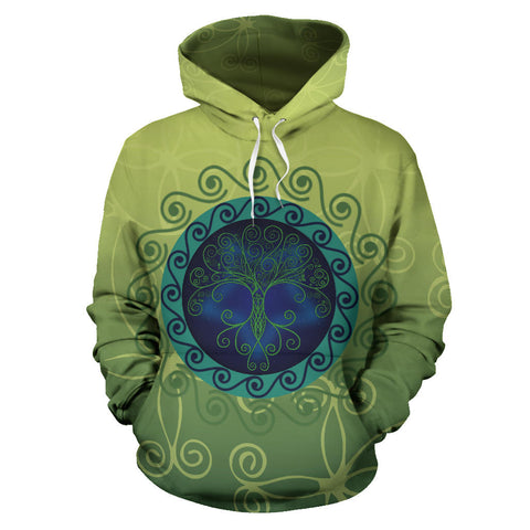 Celtic Tree of Life Hoodie - Front - For Men and Women