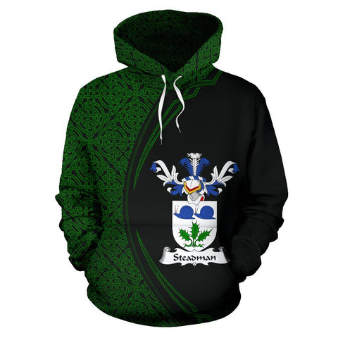Steadman Family Crest Hoodie Irish Circle Style | 1st Ireland