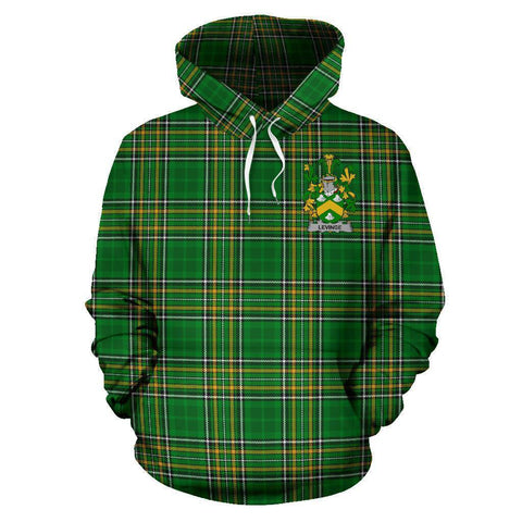 Levinge or Levens Ireland Hoodie Irish National Tartan (Pullover) A7