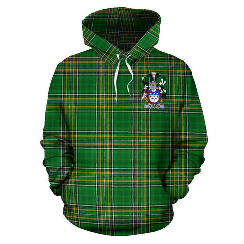 Image of Clinton Ireland Hoodie Irish National Tartan (Pullover) A7