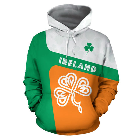 Image of Ireland Celtic Shamrock Hoodie | ireland hoodie