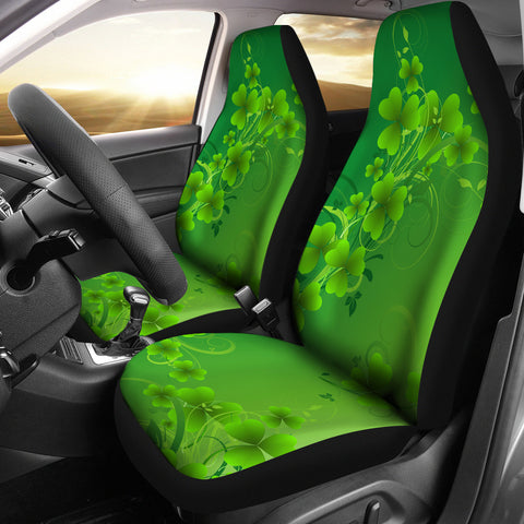 Image of Magical Shamrock Car Seat Covers - Set of 2