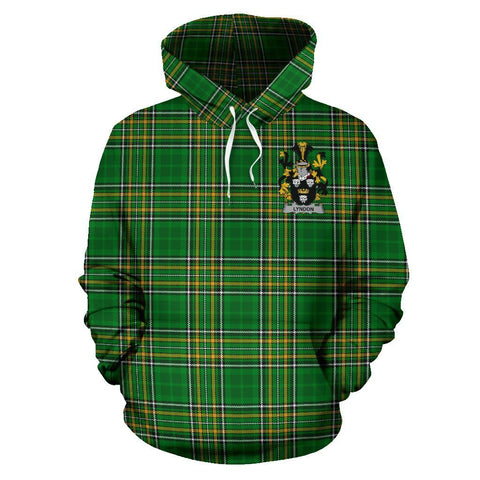 Lyndon or Gindon Ireland Hoodie Irish National Tartan (Pullover) A7