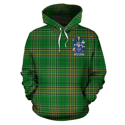 Image of Fennelly or O'Fennelly Ireland Hoodie Irish National Tartan (Pullover) A7