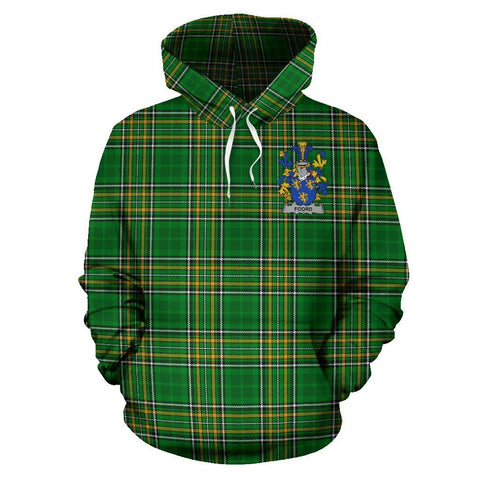 Foord Ireland Hoodie Irish National Tartan (Pullover) A7