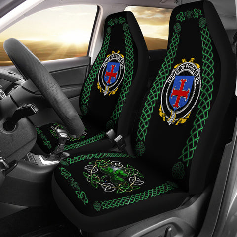 Pendleton Ireland Shamrock Celtic Irish Surname Car Seat Covers | 1st Ireland