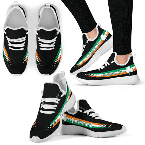 Ireland Heartbeat Mesh Knit Sneakers TH0