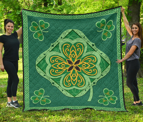 Irish Shamrock Quilt 1