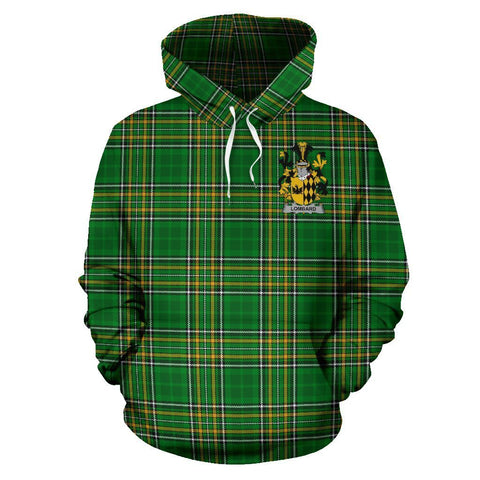 Lombard Ireland Hoodie Irish National Tartan (Pullover) A7
