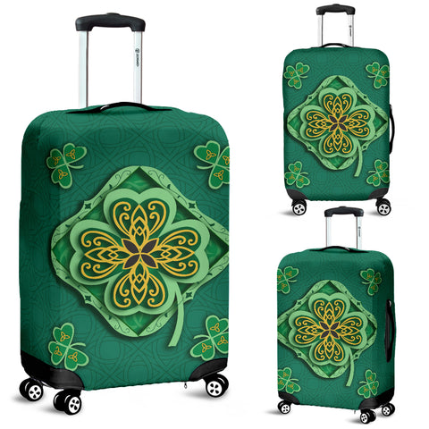 Irish Shamrock Luggage Covers 1