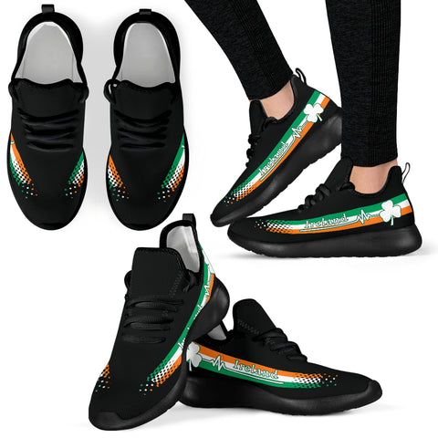Image of Ireland Heartbeat Mesh Knit Sneakers TH0