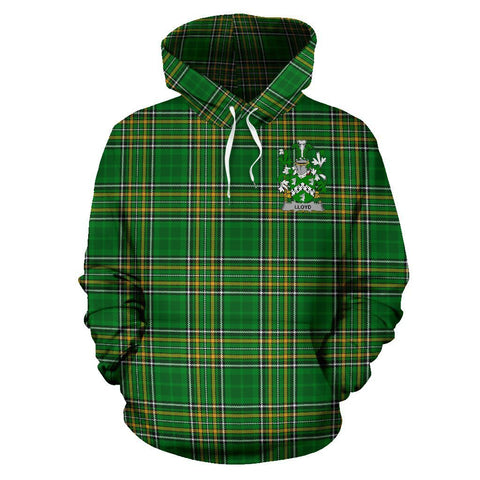 Lloyd Ireland Hoodie Irish National Tartan (Pullover) A7