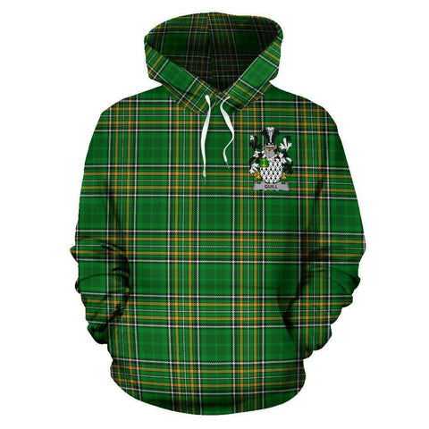 Image of Quill Ireland Hoodie Irish National Tartan (Pullover) A7