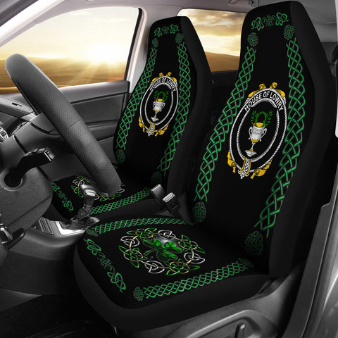 Lowry or Lavery Ireland Shamrock Celtic Irish Surname Car Seat Covers | 1st Ireland