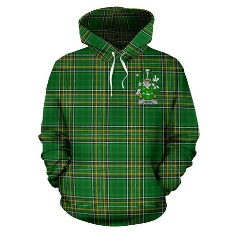 Curtin or McCurtin Ireland Hoodie Irish National Tartan (Pullover) A7