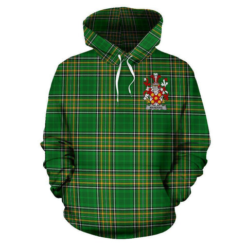 Manders Ireland Hoodie Irish National Tartan (Pullover) A7