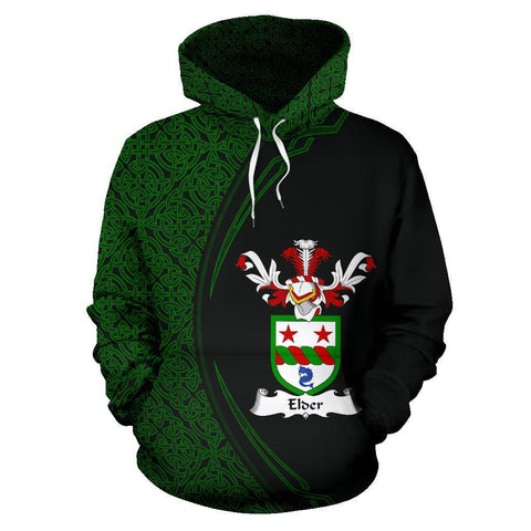 Image of Elder Family Crest Hoodie Irish Circle Style | 1st Ireland