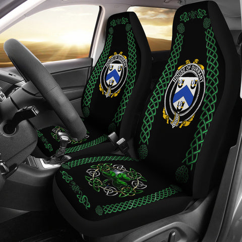 Durrant Ireland Shamrock Celtic Irish Surname Car Seat Covers | 1st Ireland