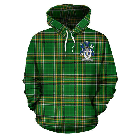 McElroy or Gilroy Ireland Hoodie Irish National Tartan (Pullover) A7