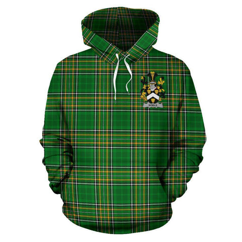 Noble Ireland Hoodie Irish National Tartan (Pullover) A7