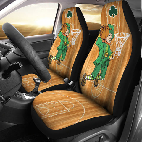 St. Patrick Dunking Car Seat Covers - Set of 2 - Universal Fit TH7