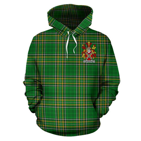 Prendergast Ireland Hoodie Irish National Tartan (Pullover) A7