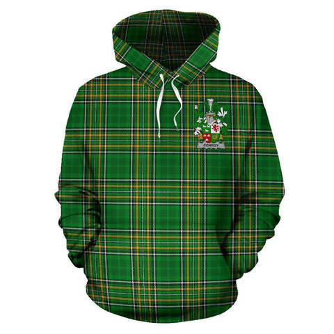 Conroy or O'Conry Ireland Hoodie Irish National Tartan (Pullover) A7