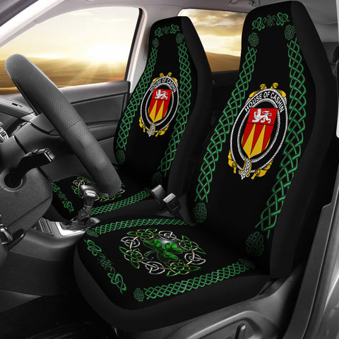 Cashin or McCashine Ireland Shamrock Celtic Irish Surname Car Seat Covers | 1st Ireland