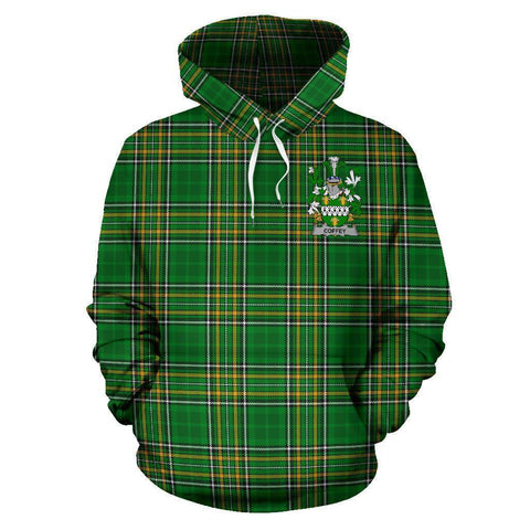 Coffey or O'Coffey Ireland Hoodie Irish National Tartan (Pullover) A7