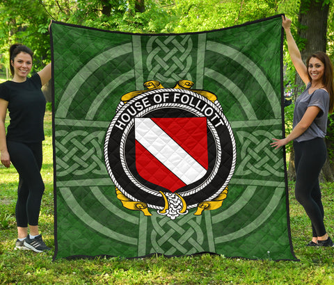Ireland Clan Quilt - Folliott | 1stireland.com
