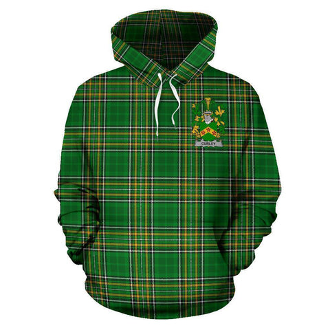 Curley or McTurley Ireland Hoodie Irish National Tartan (Pullover) A7