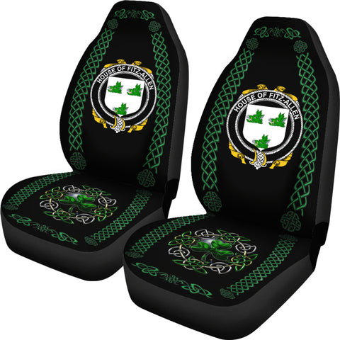 Fitz-Allen Ireland Shamrock Celtic Irish Surname Car Seat Covers TH7