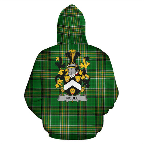 Image of Noble Ireland Hoodie Irish National Tartan (Pullover) | Women & Men | Over 1400 Crests