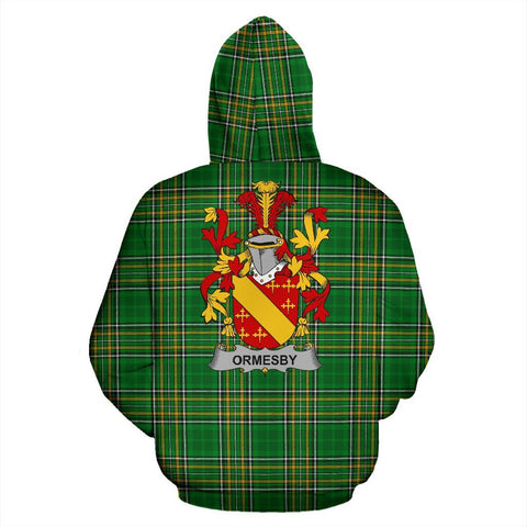 Ormesby Ireland Hoodie Irish National Tartan (Pullover) | Women & Men | Over 1400 Crests