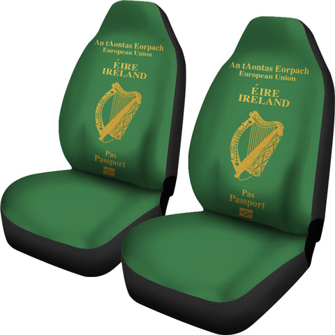 Ireland Passport Car Seat Covers ( Set Of 2)