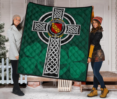 Irish Quilt, Stephens Family Crest Premium Quilt TH47