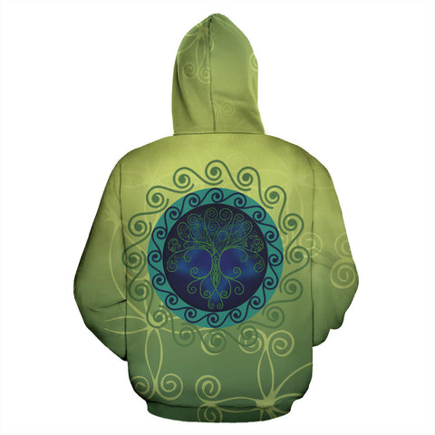Celtic Tree of Life Hoodie - Back - For Men and Women