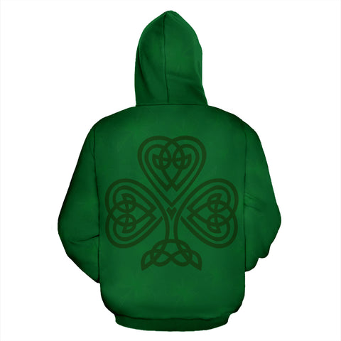Ireland Hoodie Celtic shamrock - Football Style Ver.02 TH5