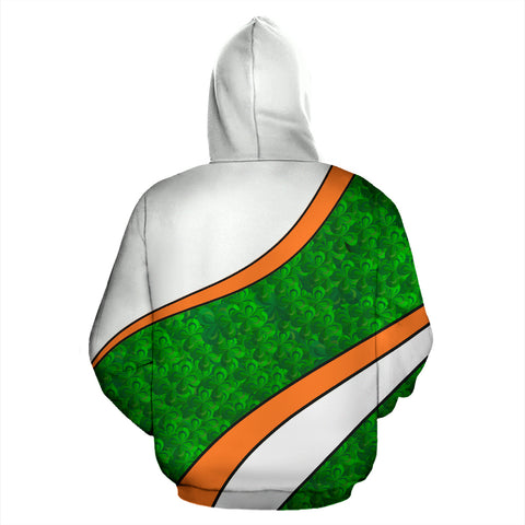 Image of Ireland Hoodie Patterns Shamrock St. Patrick's Day TH5