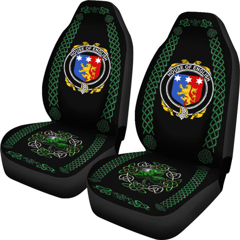 English Ireland Shamrock Celtic Irish Surname Car Seat Covers TH7