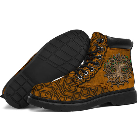 Celtic All Season Boots Tree of Life K4
