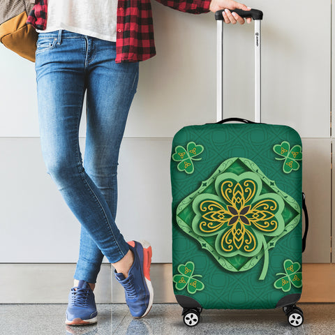Irish Shamrock Luggage Covers 2