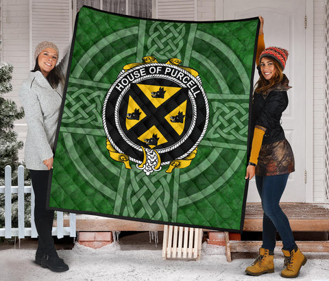 Ireland Clan Quilt - Purcell | 1stireland.com