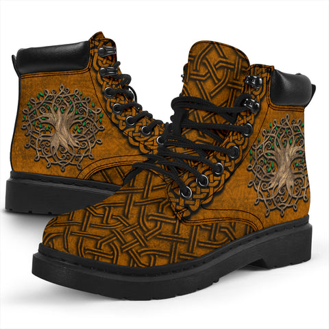 Celtic All Season Boots Tree of Life