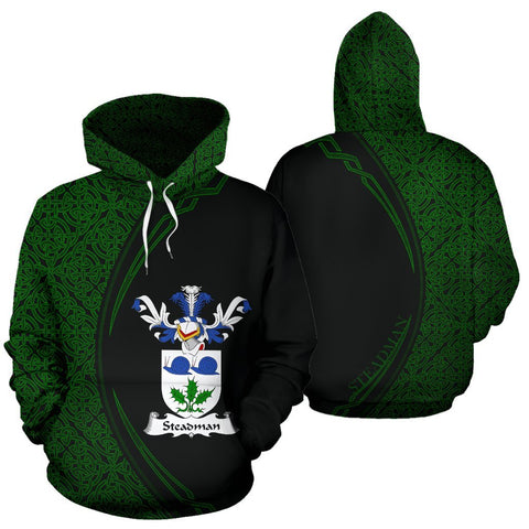 Steadman Family Crest Hoodie Irish Circle Style Hj4