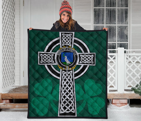 Irish Quilt, Sheehan or O'Sheehan Family Crest Premium Quilt TH47