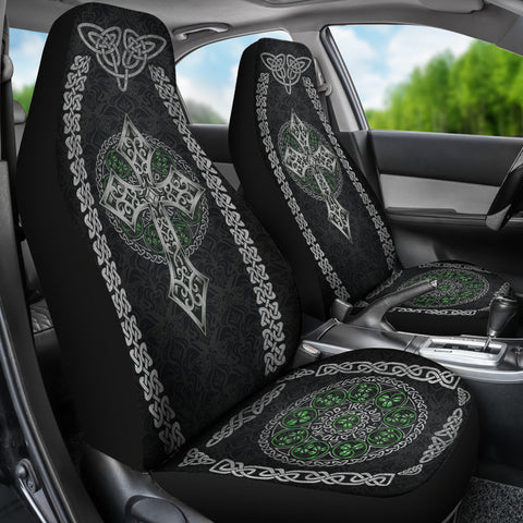 Image of Celtic Car Seat Cover Celtic Cross