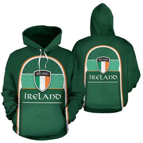 Ireland All Over Print Hoodie